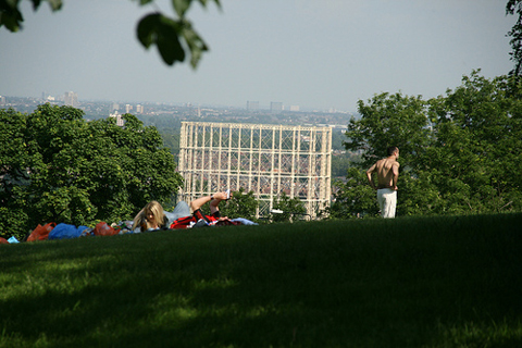 Wood Green from Alexandra Palace