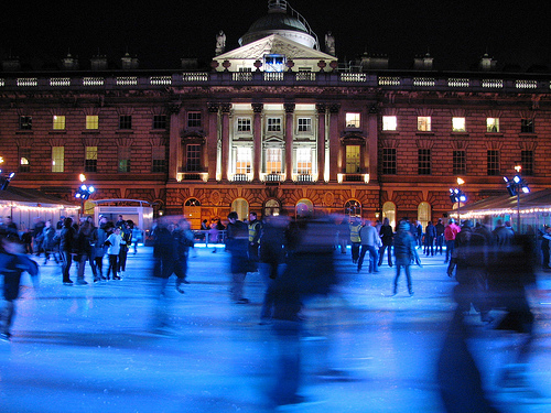 Somerset House outdoor ice rink