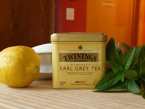 Earl Grey Sorbet Ingredients