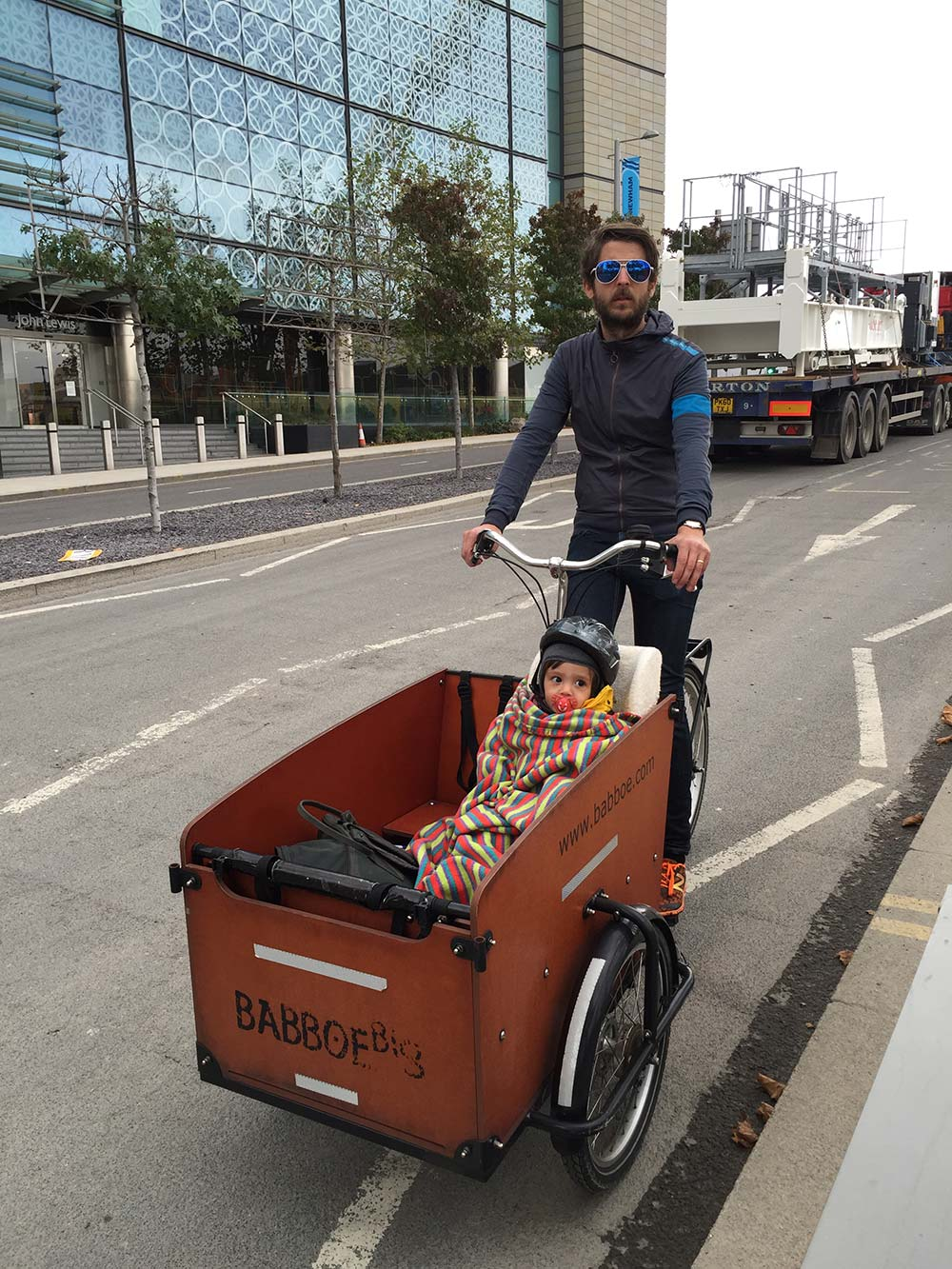Our new cargo bike
