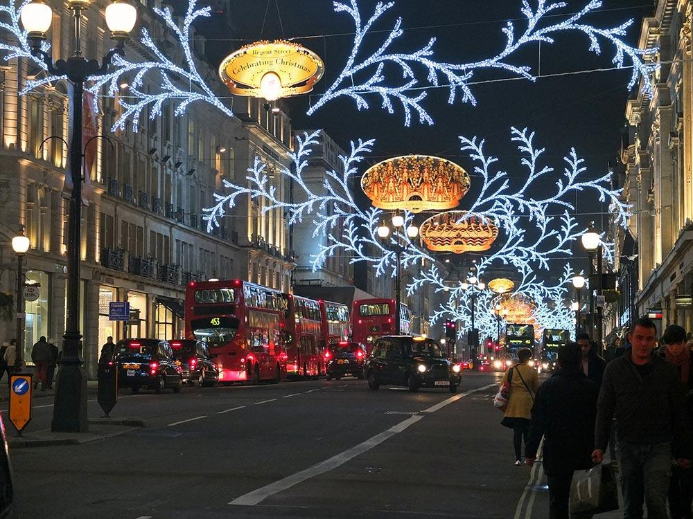 Christmas Lights - Regent Street